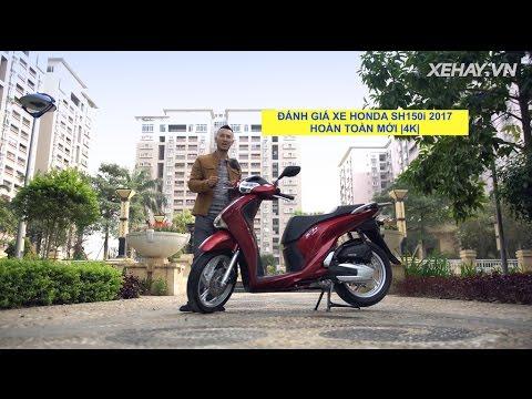 [XEHAY.VN] Đánh giá xe Honda SH 150i ABS 2017 hoàn toàn mới |4K|