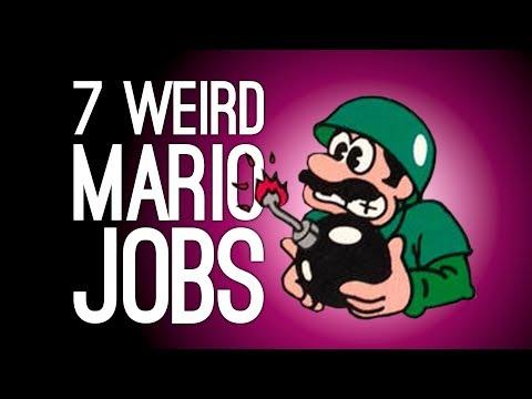 7 Weirdest Jobs Mario Ever Had