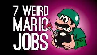 7 Weirdest Jobs Mario Ever Had