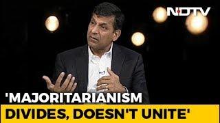 Worry About Majoritarianism: Raghuram Rajan To NDTV