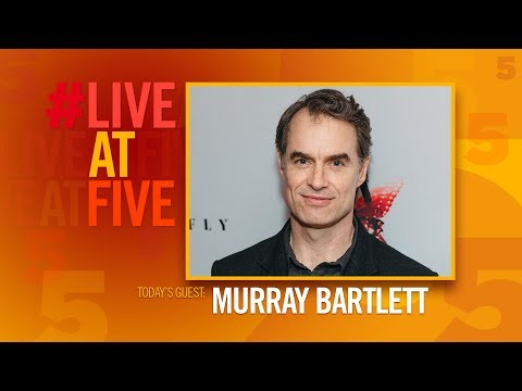 Broadway.com #LiveatFive with Murray Bartlett of M. BUTTERFLY