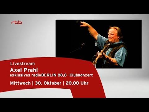 Axel Prahl Musik Livestream vom 30.10.2013
