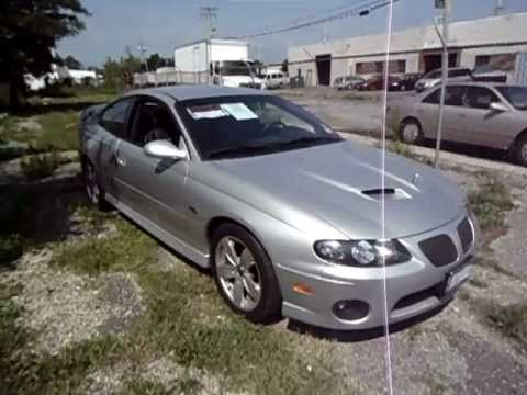2005 pontiac gto for sale silver 6 0 corvette engine 18 000 mile youtube. Black Bedroom Furniture Sets. Home Design Ideas