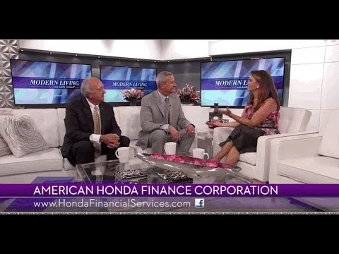 Honda Financial Services promotes financial literacy on Modern Living with kathy ireland®