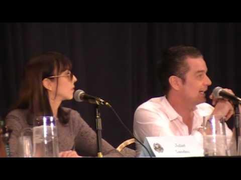 Dragon*Con 2012  Juliet Landau and James Marsters