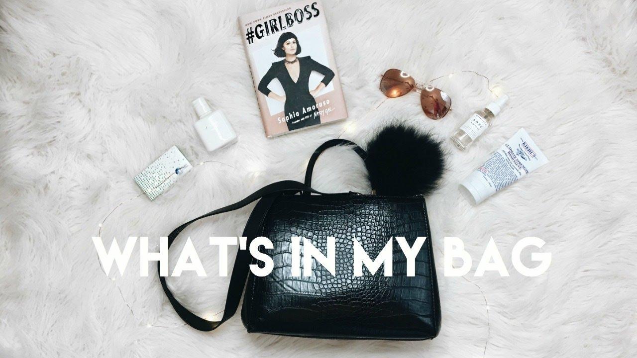 What s in my bag summer sheekey youtube