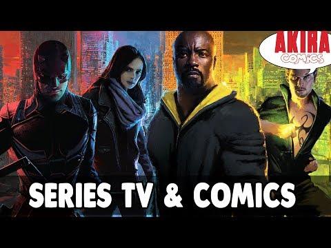 Series actuales basadas en cómics || Akira Cómics