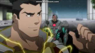 Justice League War The Justice League Meet Each Other