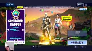 Fortnite season 8 live road to 2k subs give away soon at 2k subs clan try outs new thing& stream sni
