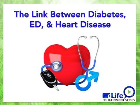 The Link Between Diabetes, ED & Heart Disease