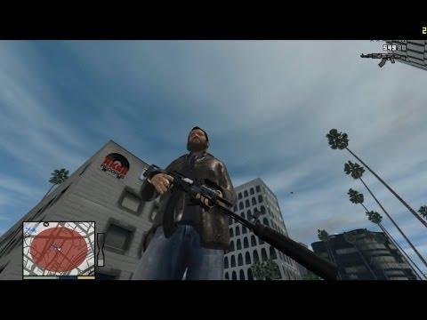 [GTA IV] GTA V Weapon Models In GTA IV