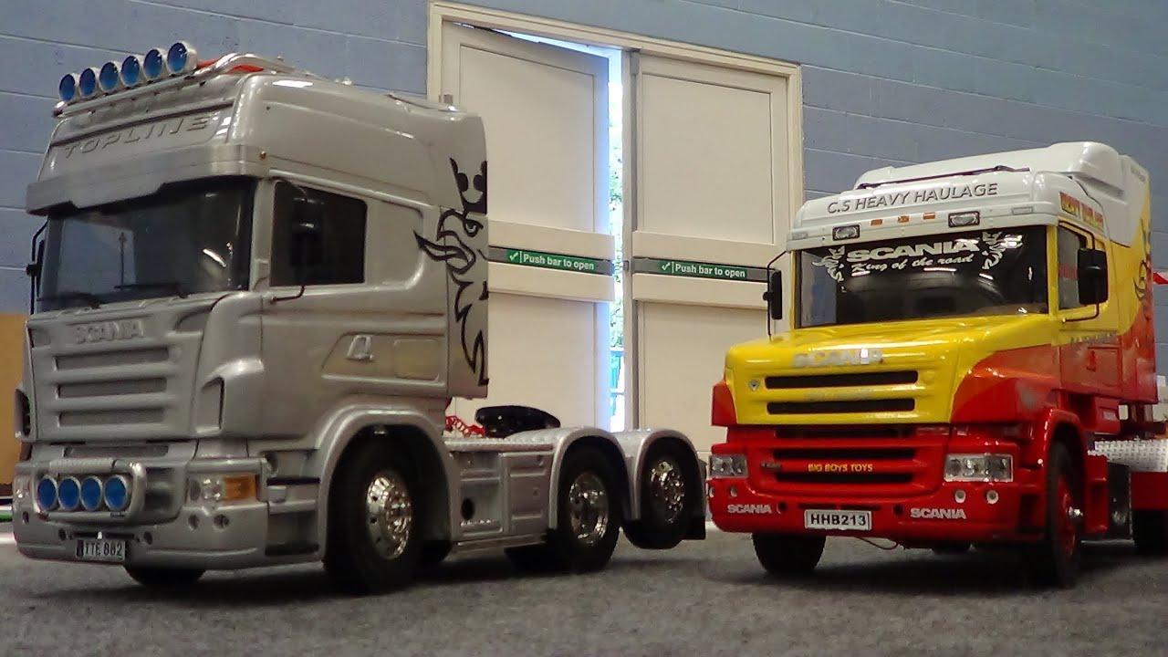 RC trucks @ Leyland R,V,T,C, 1/14 scale 08-02-14 (W,J ...