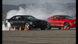Shelby GT500 Crushes Camaro SS! - Drag Race Showdown