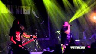 THE HAUNTED - the premonition-the flood  live@Gagarin 205 (Athens, 22.10.2011)