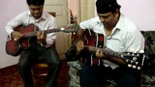 Tu hi Haqeeqat on guitar-Tum Mile-Best version