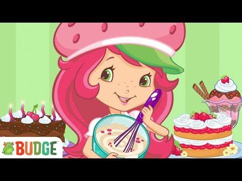 Strawberry Shortcake Bake Shop Princess Cake - Fun Cooking Kitchen Games For Girls