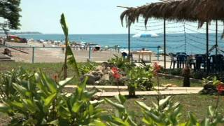видео Мини-гостиница У Моря, Гагра, Абхазия