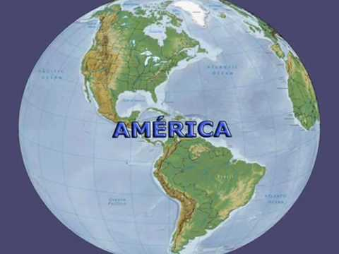 Mapas Do Mundo Planisferio E Continentes Youtube