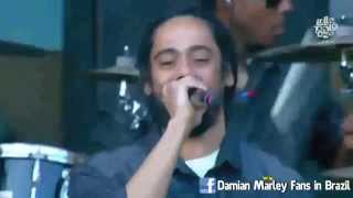 Damian Marley Intro Make It Bun Dem Live Chile 2015