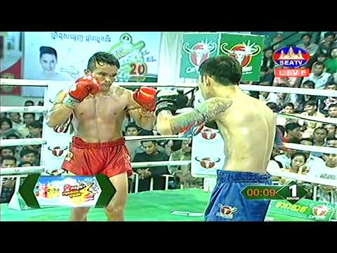 Kun Khmer, ម៉ន សាម៉េត Vs ថៃ,  Morn Sameth Vs Tisa ( Thai), SEATV boxing 17 Nov 2018 | Fights Zone
