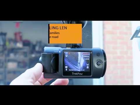ABOX Dash Cam | HD 1080P 180° Rotation 170° Wide Angle