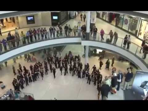 An Unforgettable Flash Mob Sings Youtube
