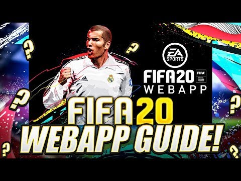 HOW TO START THE FIFA 20 WEB APP! FIFA 20 Ultimate Team - 동영상