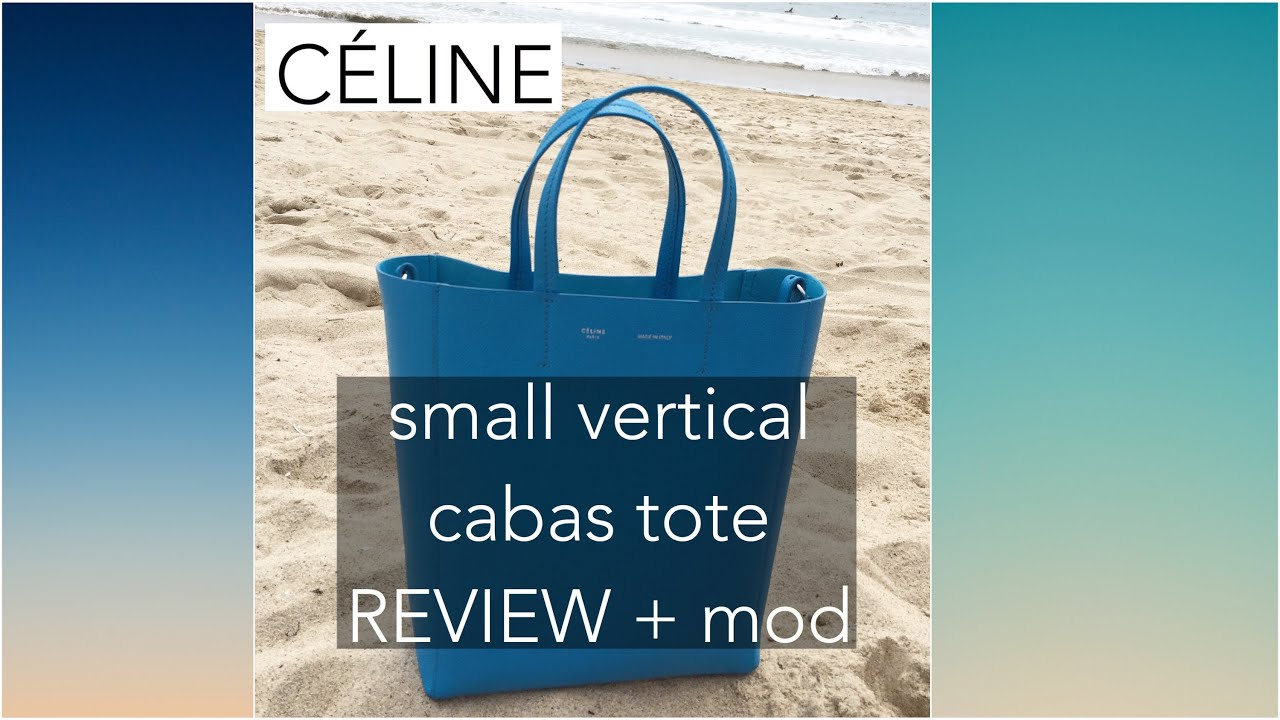 celine pink bag price - REVIEW: C��LINE Small Vertical Cabas Tote - YouTube