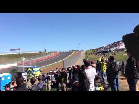 Grand Am Rolex race start