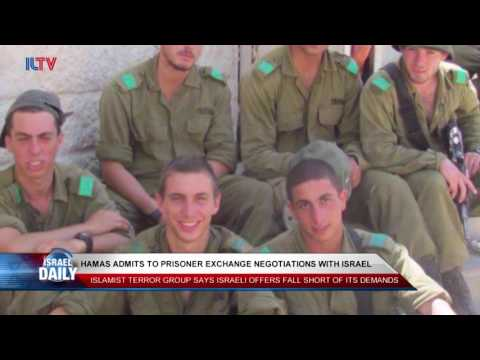 Hamas Admits to Prisoner Exchange Negotiations With Israel