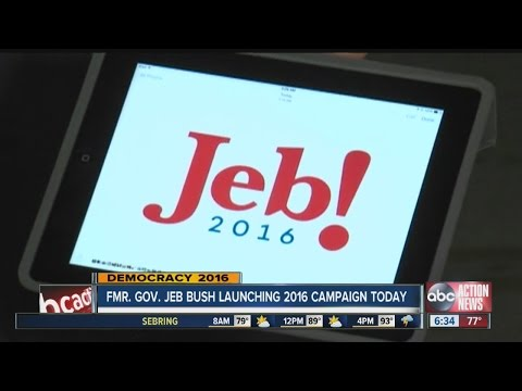 After 6 months of consideration, Jeb Bush ready for 2016 race on Monday