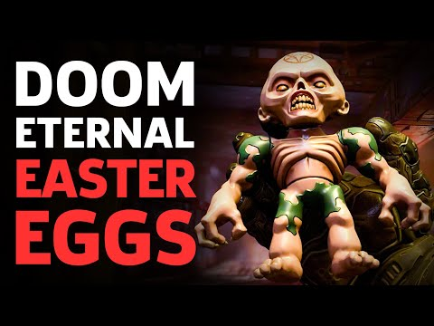 Doom Eternal Easter Eggs And References