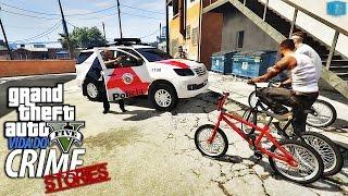 GTA V - Vida Do Crime Stories - Enquadro Da Policia #8