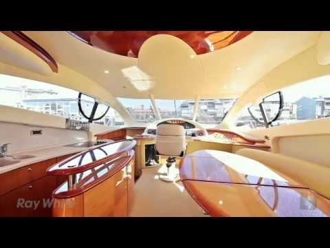 Azimut 55 luxury Motor Yacht Auction by Ray White Marine