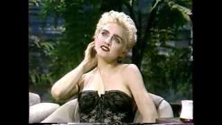 Madonna The Tonight Show 1987