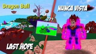 El nuevo DRAGON BALL de ROBLOX - LAST HOPE