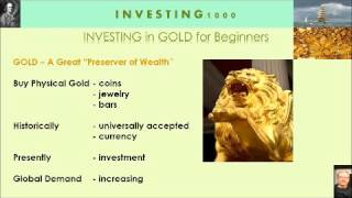 gold investment 2016-basic knowledge