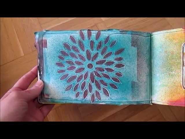 MOLESKINE – Flip through of my Art Journal Book