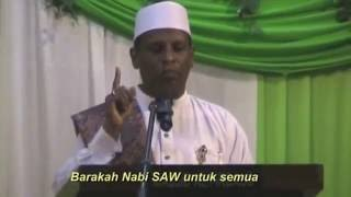 Habib Ahmad Ismail : Keberkahan orang yang ada pertalian dengan Rasulullah SAW