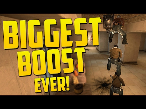 BIGGEST BOOST EVER - CS GO Funny Moments in Competitive