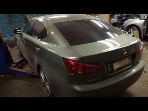 Диагностика и ремонт причины горящей лампочки ABS на приборной панели Lexus ls250