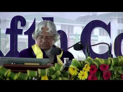 Dr A P J Abdul Kalam at 5th Convocation of BAU Ranchi