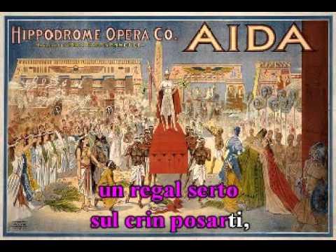 Celeste Aida. De: Giuseppe Verdi