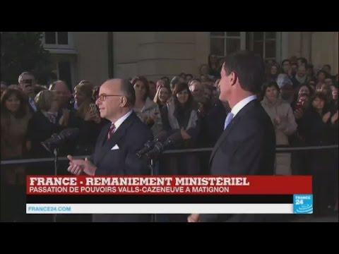 """Bernard Cazeneuve, nouveau Premier ministre va tenter de """"préparer l'avenir"""""""