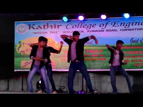 Coimbatore Kathir college annual day celebration. mixed songs dance performance.