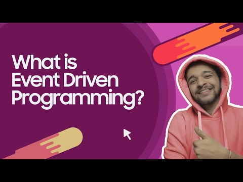 What is event Driven Programming | Explained in Hindi with real life examples