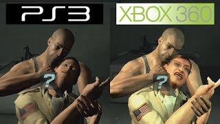 Splinter Cell Double Agent   PS3 VS 360   Graphics Comparison   Comparativa