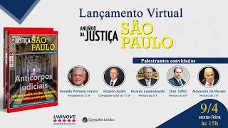 Lançamento do Anuário da Justiça São Paulo 2020 / 2021