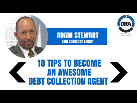 10 Tips to Become an Awesome Debt Collection Agent - Better Credit Control with Adam Stewart