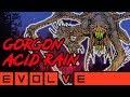 GORGON ACID RAIN!! Evolve Gameplay Stage Two (NEW EVOLVE 2019 Monster Gameplay)